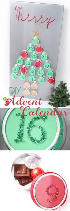 Love this DIY advent