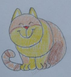 Guided drawing - cat (Maybe it's Tabby!)