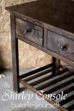 Entry Table DIY