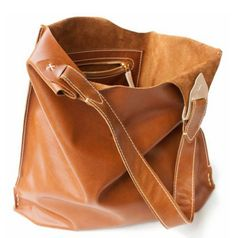 Custom Leather Tote by Feel Handmade | Hatch.co