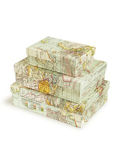 map boxes #inspiration only