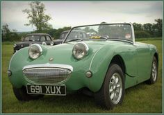 Worth learning to drive for! AUSTIN HEALEY frog-eyed Sprite (by Welsh Harlequin, via Flickr). #want