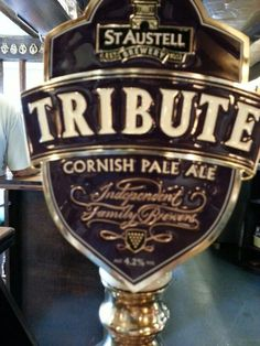 From the St Austell Brewery, Cornish Pale Ale - 4.2%  vol