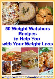 50 Weight Watchers Recipes to Help You with Your Weight Loss - Weight Watchers Food Points Blog