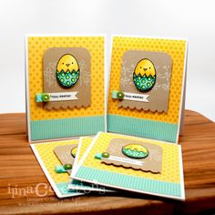 handmade Easter card from Creativity Within ... strong layout ... bright colors ... great card!