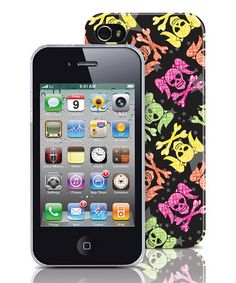Edgy Scribble Pigtail Skull iPhone 4/4S Case by Merkury Innovations!