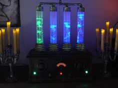 Prop Showcase: Frankenstein Laboratory Bubbler Prop #2