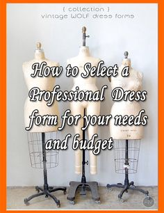 Buying Tips and Resources for a Professional Sewing Dress Form