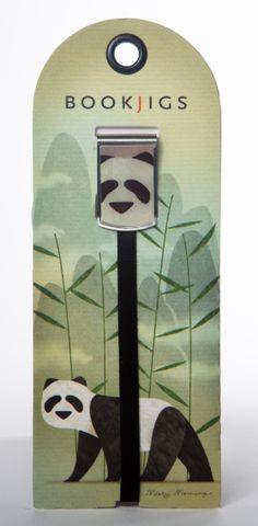 Bookjigs panda bear bookmark