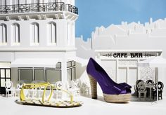 perfect combination: ad campaign and beautiful shoe!