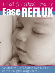 Tried and tested tips to ease baby #reflux from moms who went through it @Maaike Anema Anema Anema Boven make lists ...