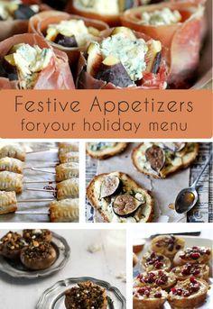 Festive appetizers,