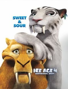 My favorite animated movie of the year so far! diego, movi poster, movi 333, favorit anim, age charact, fav film, anim movi, ice age, favorit movi