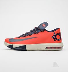 Nike KD VI Light Crimson
