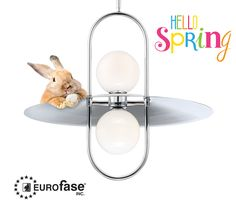 Hello Spring! Breathe in that fresh air and welcome in the light. The Millbrook pendant incorporates an open frame design for a fresh look with hints of vintage style. #interior #design #lighting #decor #pendant #vintage #farmhouse #modern #spring #bunnies