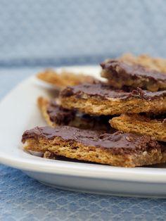 Salted Caramel Pecan Bars | Bake or Break