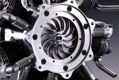 O.S. Sirius7 FR7-420 7-Cylinder Engine