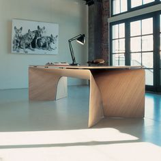 Big bend table by Jeff Miller