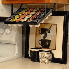 Under Cabinet Keurig K-Cup Holder
