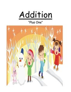 FREEBIE! Fern Smith's FREE JANUARY SNOW THEME! Addition Plus One Concept Center Game