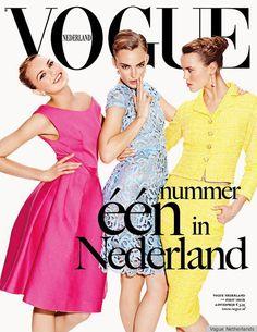 Vogue estrena cabecera en Holanda, que os parece la portada?