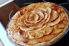 Bavarian Apple Cheesecake