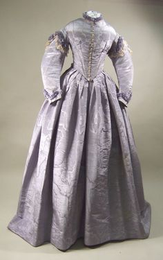 Wedding dress, 1865.  Manchester City Galleries