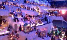 Glenn....time to think of the village.  :) christma celebr, villa navideña, villag idea, decorating ideas, christma hous, christmas villages, christma villageguam, xmas villag, christmas gifts