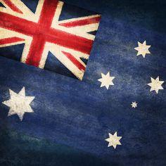 Australian flag artwork • CWA Australia recipes