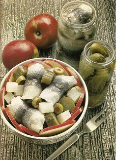 Apple Herring Salad - so so gross