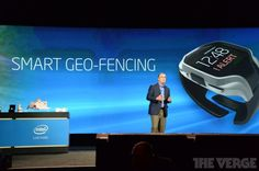 The Intel Smartwatch Raises Eyebrows at CES 2014 #smartwatches trendhunter.com