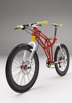 Ducati bicycle with trellis frame, cool!