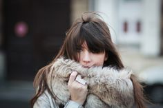 fashion style, furs, long hair, beauti, winter wardrobe
