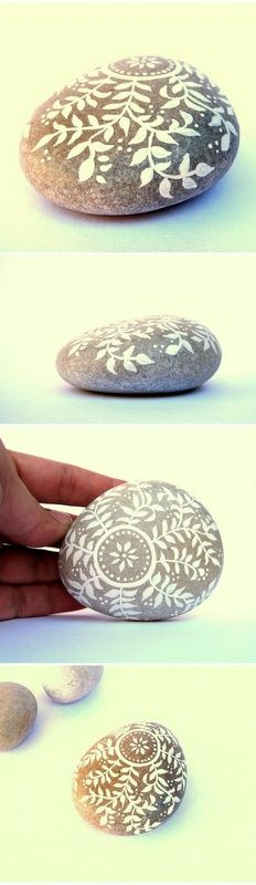Painted Stones by Malena Valcarcel