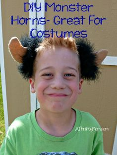 diy monster horns, t