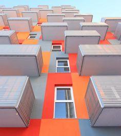 High Density Residential Building / Solano & Catalán, Elena Saricu