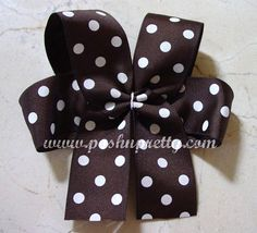 Lots of free patterns for hair bow and clippies
