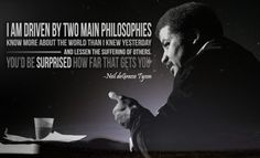 Inspirational Words of Wisdom from Neil deGrasse Tyson [Pic]