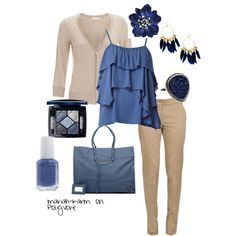 Blue Interview, created by mariah-karm blue interview