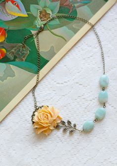 Rose Charmed Necklace