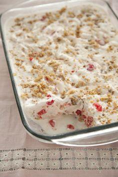 Paula Deen Cherry Vanilla Ice Cream Dessert