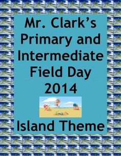 Physical Education Primary and Intermediate Field Day Isla