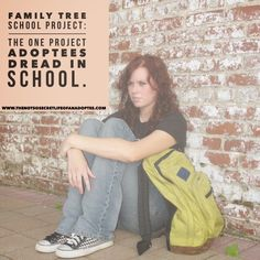 Discover How Family Tree Projects Trigger Loss and Trauma in Adoptees ~ The Not So Secret Life of An Adoptee < consider trauma informed approach, a different type of project...