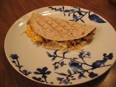 Grilled Ground Turkey Quesadillas Recipe for your George Foreman Grill - 2 Wired 2 Tired