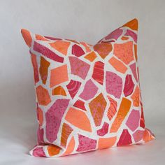 SAMPLE SALE £35, Terrazzo print cushion by Hazel Stark
