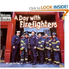 Community Helpers Theme - FireFighter by www.pre-kpages.com
