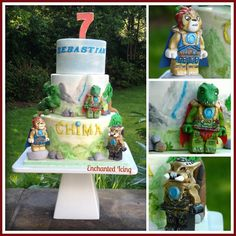 Lego Chima cake - Enchanted Icing