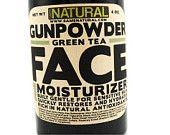 tea face, green tea