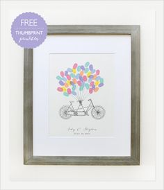 free thumb print guestbook