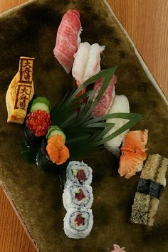 Love it and yummy sushi..